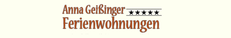 Ferienwohnungen & Chalet Anna Geißinger